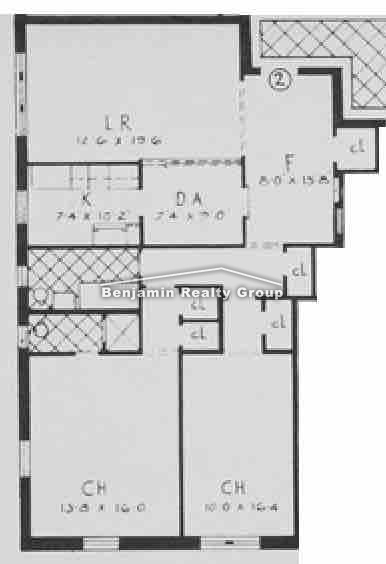 design blueprints online rego park 2 bedroom rental at blvd 2575 apartable 11374